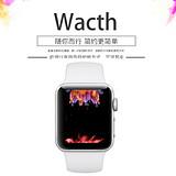 Apple Watch Sport Series 1智能手表(38mm表壳(适合130至200mm腕围)银色)