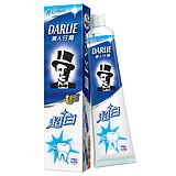 黑人(DARLIE) 超白牙膏清新口气去口臭防蛀固齿 90g(90g*3支)